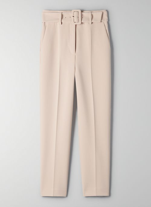SUPERNOVA PANT - High-waisted, slim dress pants
