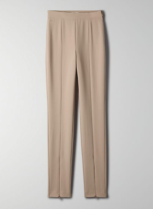 ROCKWELL PANT - High-waisted, ankle-zip pants