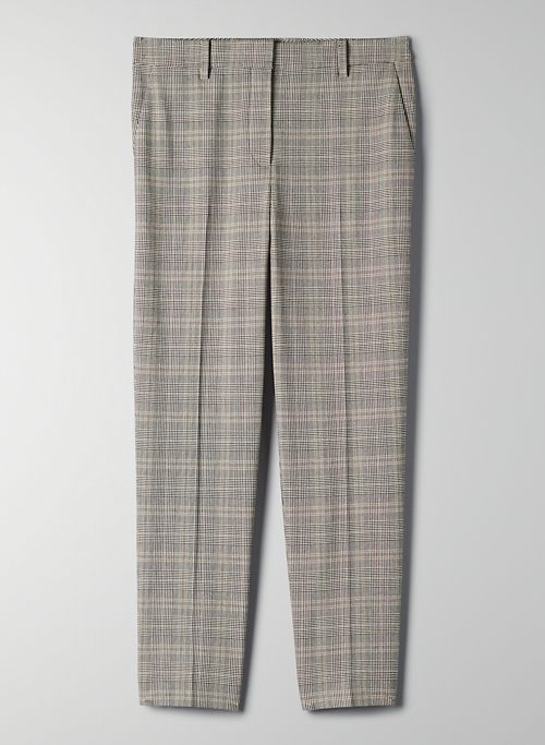 QUENTIN PANT - Mid-waisted slim-leg pant