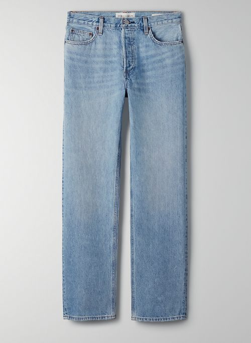 THE PATTI MID RISE STRAIGHT 31L - Mid-rise relaxed jeans