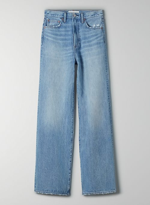 THE COCO HIGH RISE WIDE LEG 33L - High-waisted, wide-leg jeans