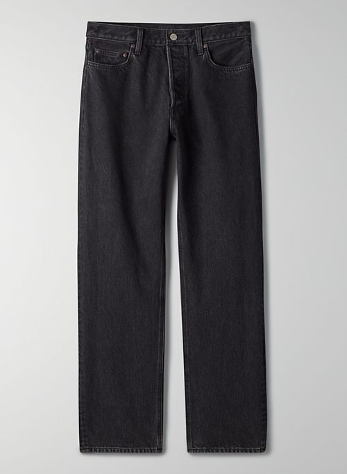 THE PATTI MID RISE STRAIGHT 31L - Mid-rise relaxed Patti jean