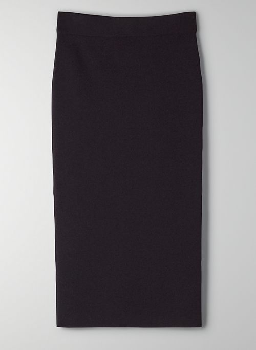 SCULPT KNIT TUBE SKIRT - Bodycon pencil skirt