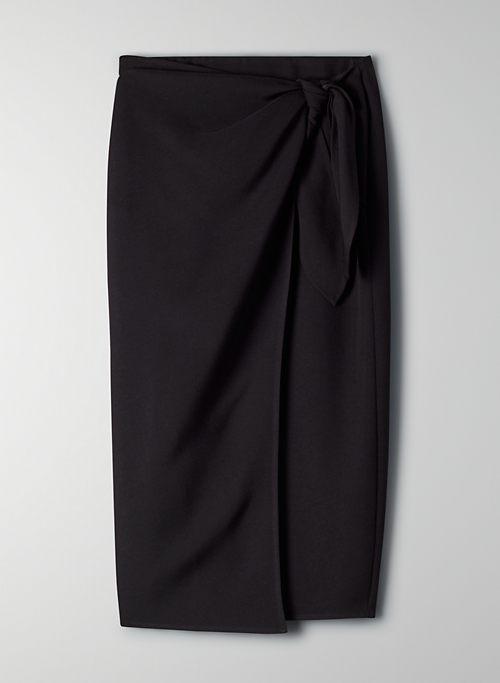 SARONG SKIRT - Sarong-style wrap skirt