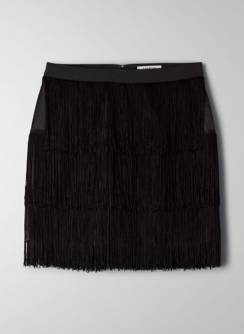 MIRAGE SKIRT - Fringe mini skirt