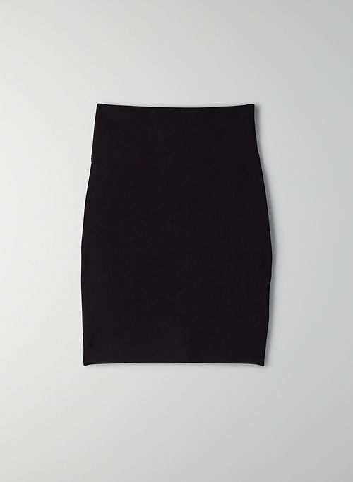 TEMPT BANDAGE SKIRT - Zip-up bodycon skirt