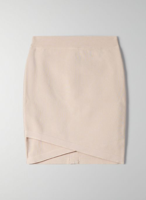 FLICKER SKIRT - Bodycon mini skirt