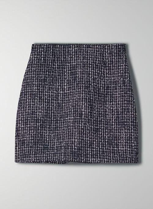 LITTLE TWEED SKIRT - Tweed mini skirt