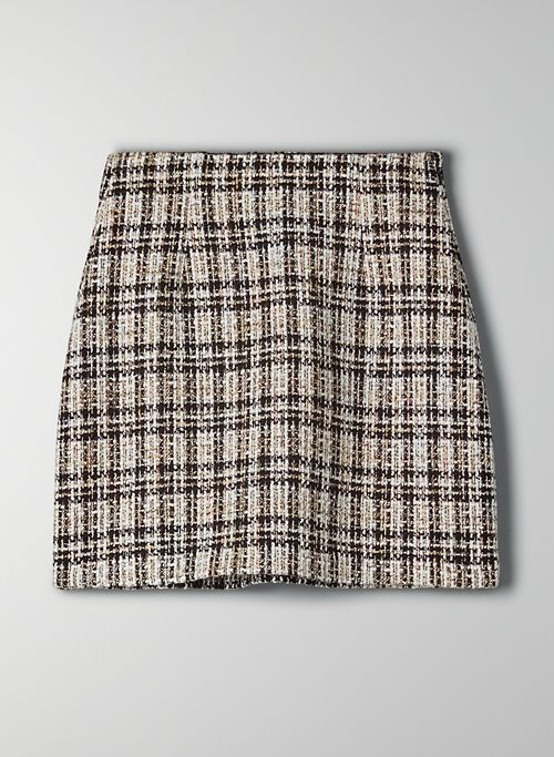 LITTLE TWEED SKIRT - Tweed mini skirt