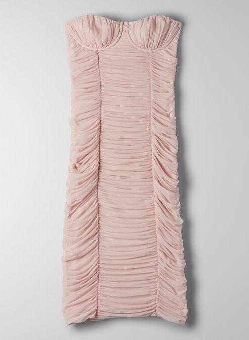 LUXOR STRAPLESS DRESS