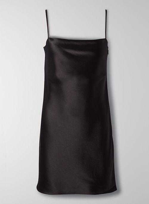 ENCORE DRESS - Mini satin slip dress