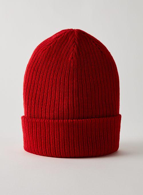 SNOWFLAKE BEANIE - Ribbed knit beanie