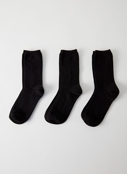 CREW SOCK 3-PACK - Crew sock three pack