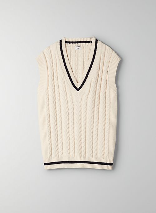WINSTON SWEATER - V-neck sweater vest