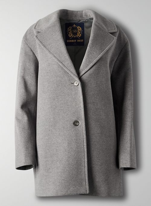 PRINCEVILLE COAT - Oversized wool-cashmere coat