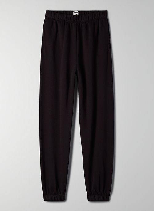 JOURNEY SWEATPANT - High-rise fleece jogger