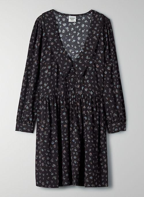 LORETTA DRESS - Floral babydoll dress