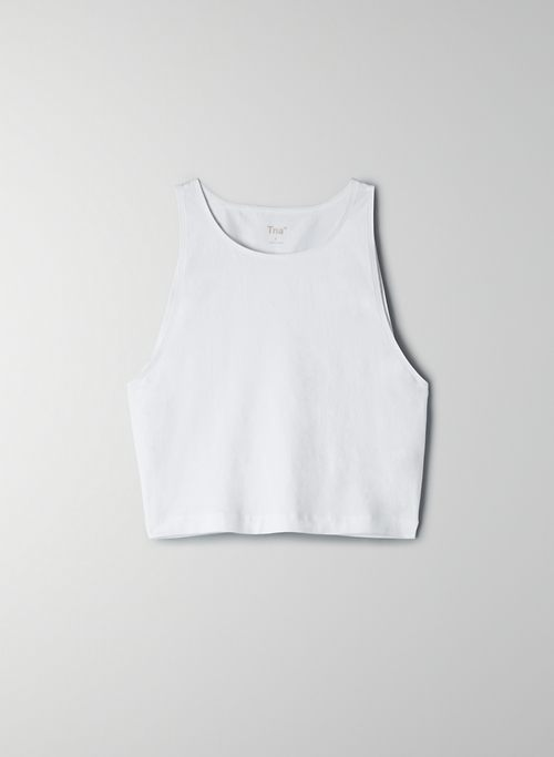MISSION TANK - Cropped muscle tank top