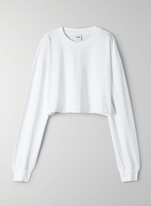 TOUR CROPPED LONGSLEEVE