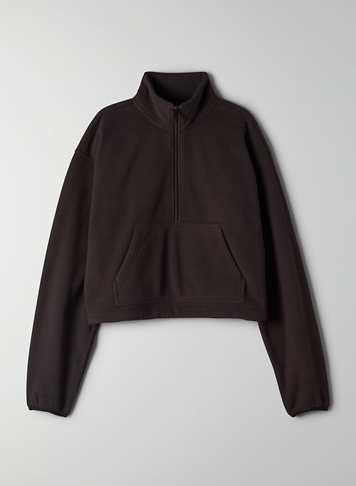 POLAR 1/2 ZIP SWEATER | Aritzia