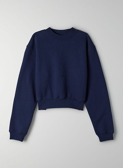 COZYAF PERFECT SHRUNKEN SWEATSHIRT | Aritzia