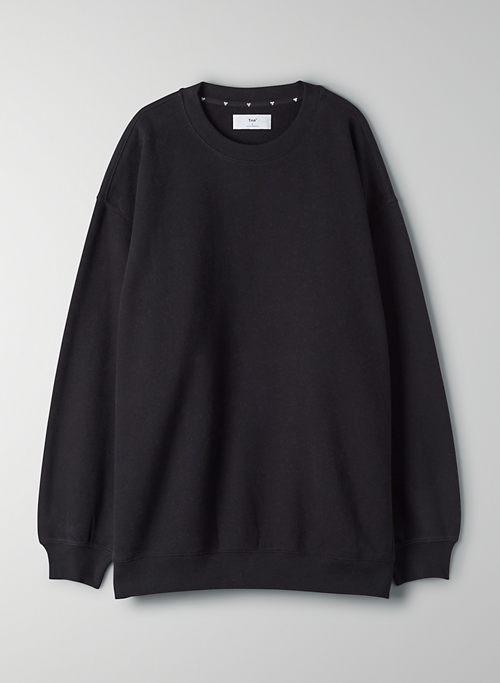 COZY FLEECE MEGA CREW SWEATSHIRT - Oversized crew-neck sweater
