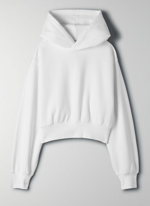 COZYAF PERFECT SHRUNKEN HOODIE - Cozy As Fleece, cropped hoodie