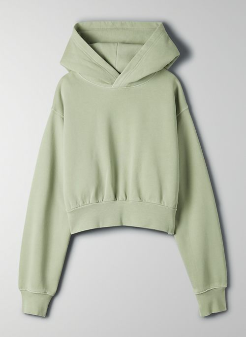COZY FLEECE PERFECT SHRUNKEN HOODIE - Cropped hoodie