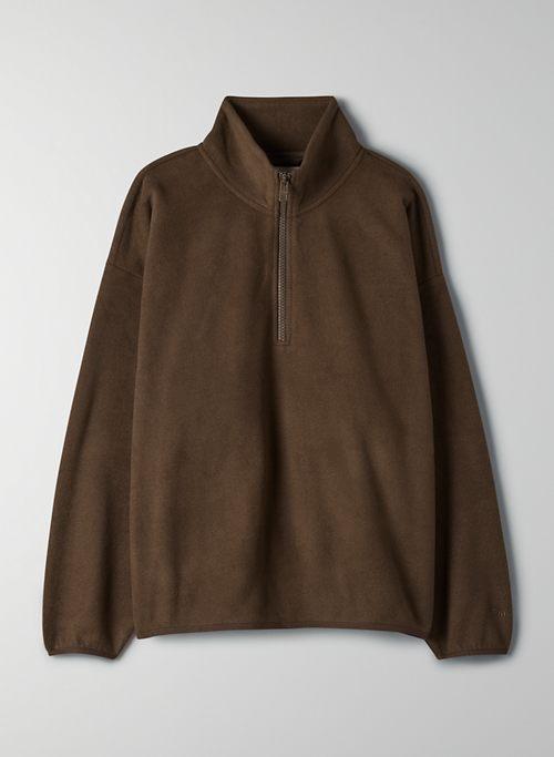 POLAR 1/4 ZIP SWEATER - 1/4 zip fleece pullover
