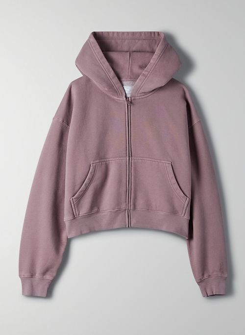 COZYAF PERFECT ZIP-UP HOODIE - Cozy As Fleece zip-up hoodie