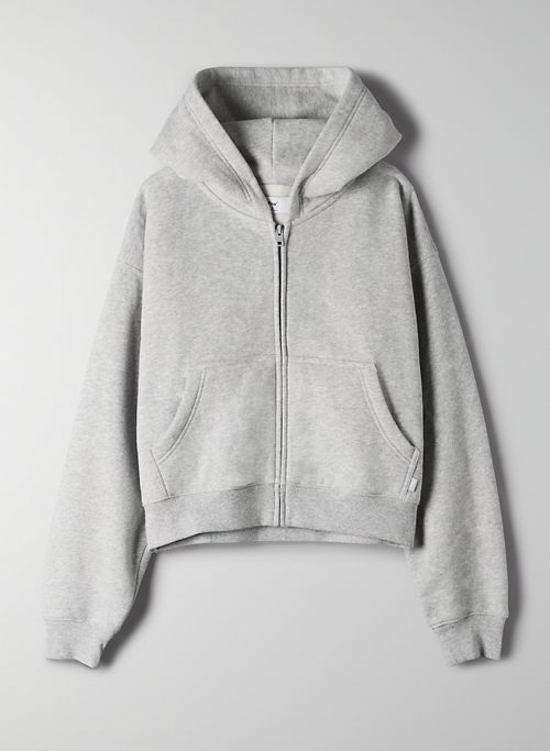 COZYAF PERFECT ZIP-UP HOODIE | Aritzia