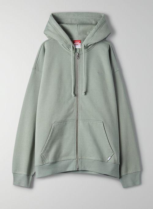 EXTRAAF MEGA ZIP-UP HOODIE - Oversized zip-up hoodie