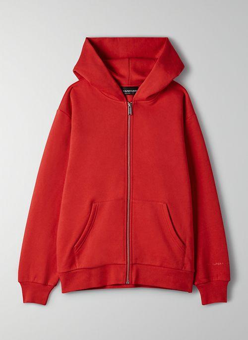 THE SUPER FLEECE™ ZIP-UP HOODIE - Fleece zip-up hoodie