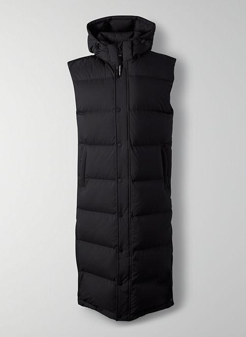 THE SUPER PUFF™ LONG VEST - Long puffer vest