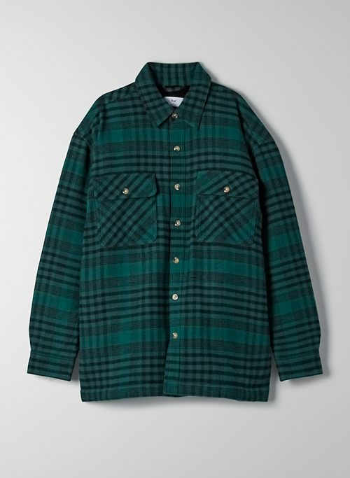 PROSPECT SHIRT JACKET - Plaid flannel shacket