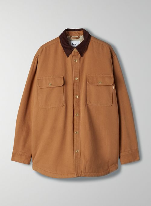 TURNER SHIRT JACKET | Aritzia