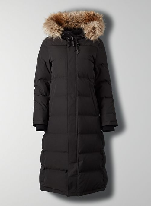 THE POWDER PARKA™ LONG - Long goose-down parka jacket