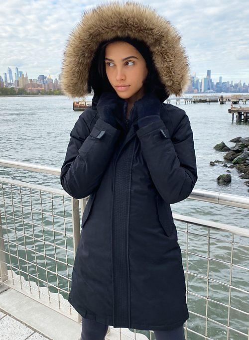 SUMMIT PARKA - Mid-length down parka jacket