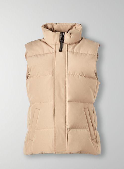 THE POWDER PARKA™ VEST - Quilted goose-down vest