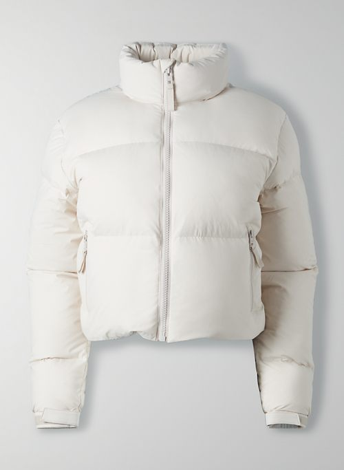 MEGA PUFF CROP - Cropped goose-down puffer jacket