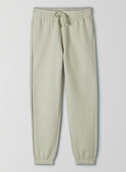 COZY FLEECE BOYFRIEND SWEATPANT - Cozy Fleece, boyfriend-fit sweatpant
