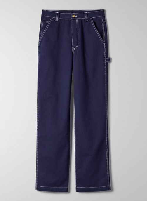 GREENWICH PANT - High-waisted, straight leg pants