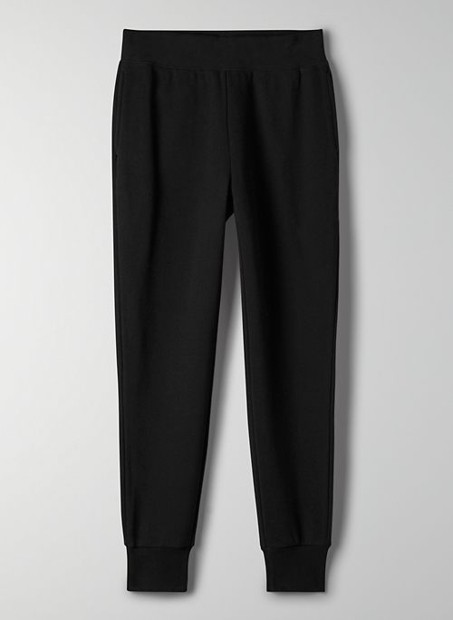 COZY FLEECE PERFECT POCKET SWEATPANT - Mid-rise pocket sweatpant