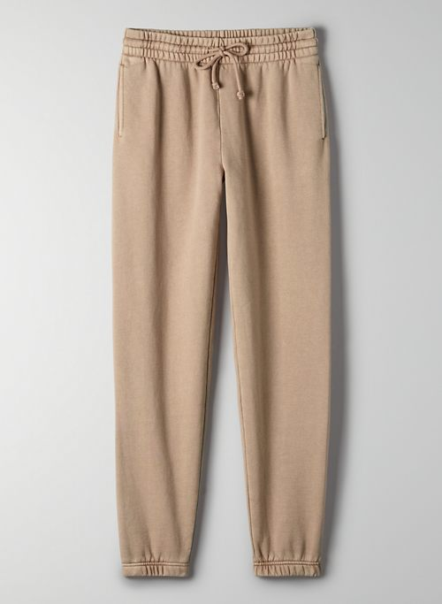 COZYAF PERFECT SWEATPANT - Cozy As Fleece, mid-rise, elastic cuff sweatpants