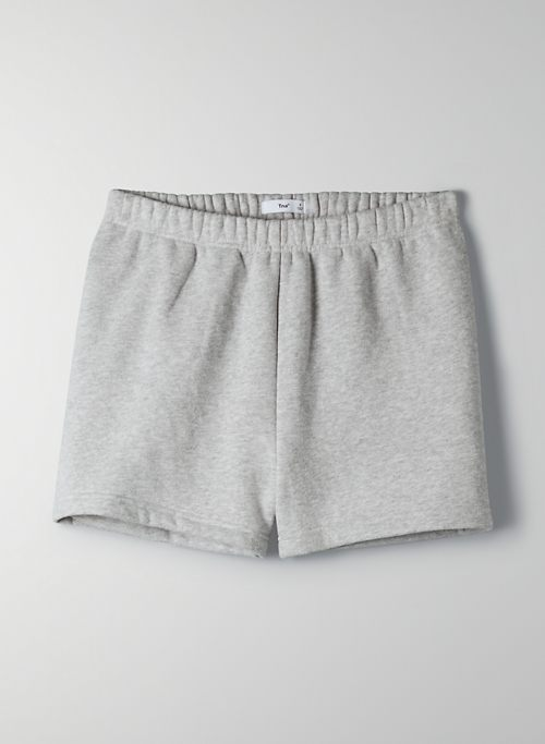 "COZYAF PERFECT HI-RISE SHORT 3"" - Cozy As Fleece, high waisted sweat short"