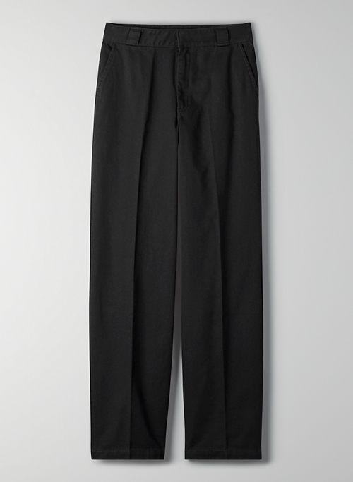 TOPEKA PANT - Wide-leg mid-rise pant