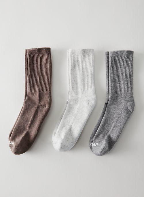 LOGO CREW SOCK 3-PACK - Crew sock 3-pack