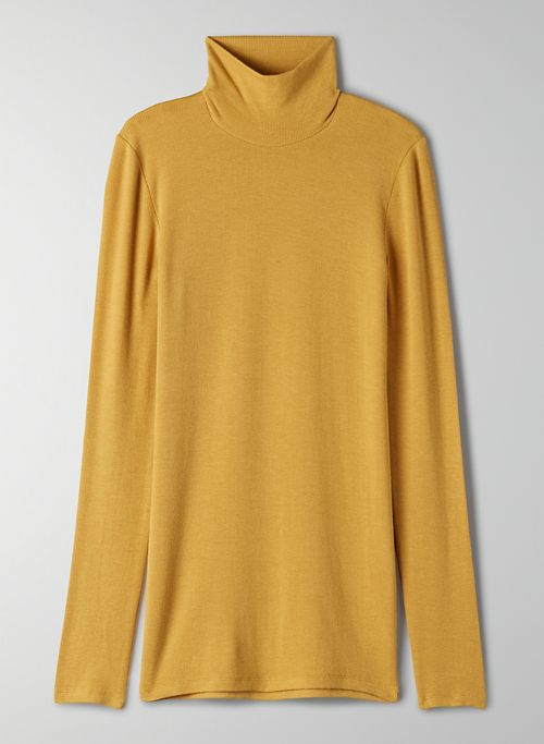 ONLY TURTLENECK - Long-sleeve, ribbed turtleneck shirt