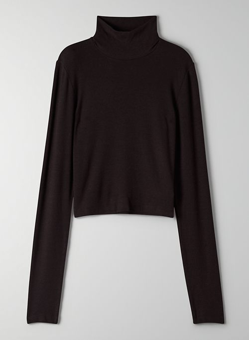 ONLY CROPPED TURTLENECK | Aritzia