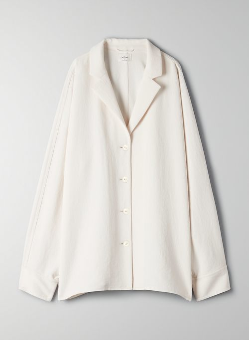 NEW FLOWY BUTTON-UP | Aritzia